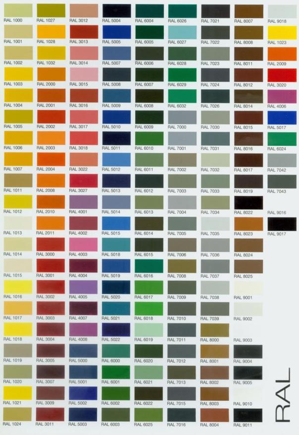 Paletas de colores innovarte educaci n infantil espa ol for Los colores de pintura