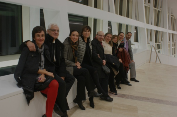InnovArte cos amigos da Fundación Penzol e Editorial Galaxia