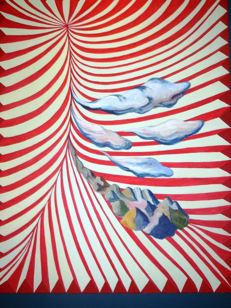 """""""Paisaje absorbido"""", Patricio Cabrero, 2007."""