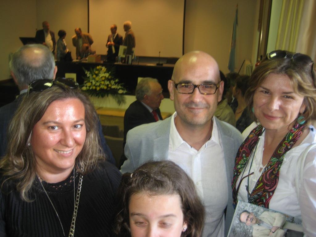Con Francisco Castro, presidente de GALIX.